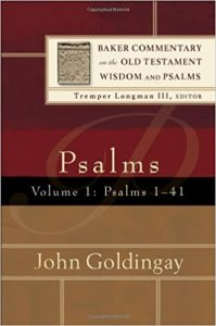 Psalms commentary goldingay