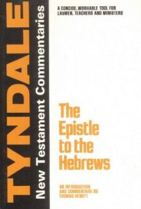 tyndale hebrews commentary