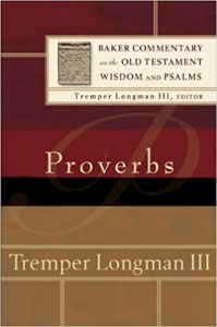 proverbs commentary longman